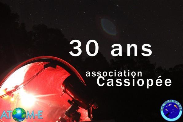 Anniversaire 30 ans club Cassiopée